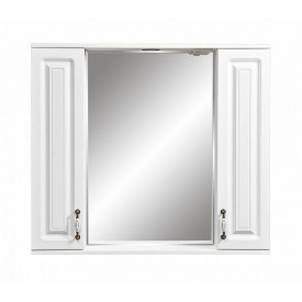 Зеркальный шкаф Кармела ольха (Stella Polar) SP-00000186