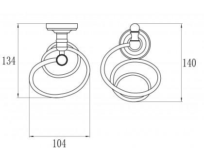 GZ 31042 Настенный держатель для фена