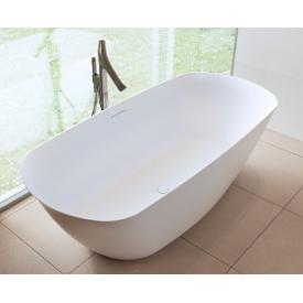Овальная ванна из искусственного камня Riho Bilo 165x77 белая BS6500500000000