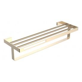 Полка для полотенец золотой Boheme Q 10947-G
