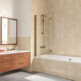 Душевая шторка на ванную E2V 120 П10 01 R VegasGlass
