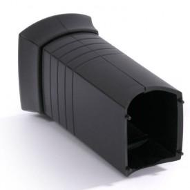 Аксессуар для скрытия кабеля черный пластик