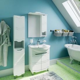 Комплект мебели для ванной Runo Стиль 65