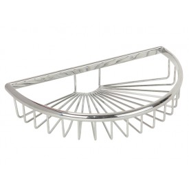 BASKET Решетка полукруглая 27х16хh5 см., хром