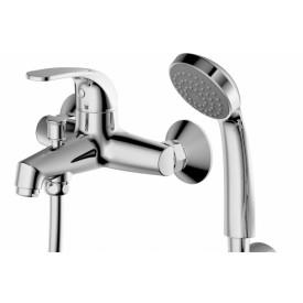 Смеситель для ванной на 2 отверстия Bravat F6135188CP-B-RUS
