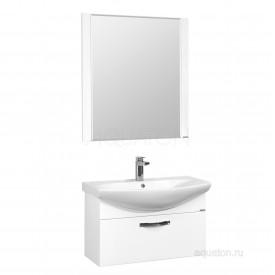 Зеркало Ария 80 белое Aquaton 1A141902AA010