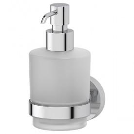 Держатель с дозатором жидкого мыла (матовое стекло; хром) Artwelle HAR 015