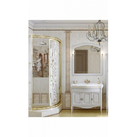 Мебель для ванной Лоренцо 100 Opadiris Z0000008431 (Тумба с раковиной + зеркало)