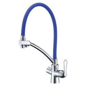 Смеситель Lemark Comfort LM3070C-Blue для кухни с подключением к фильтру с питьевой водой