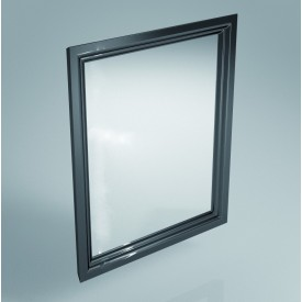 Зеркало Kerama Marazzi 60 см, черное Po.mi.60\BLK