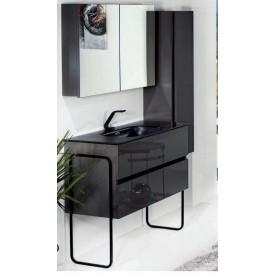 Зеркальный шкаф Armadi Art 546-Аmatt
