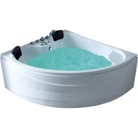 Ванна с изливом Gemy 150х150 G9041 B