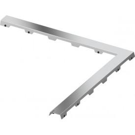 Декоративная панель угловая TECE drainline steel II 610982