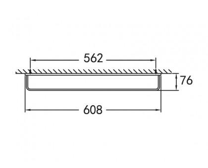 Полотенцедержатель подвесной ART&MAX AM-F-8912