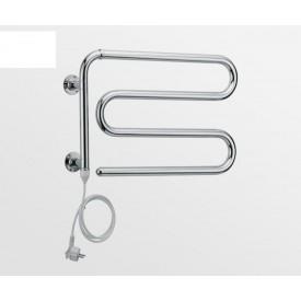 Полотенцесушитель электрический, белый/хром, Margaroli Arcobaleno 610WCC