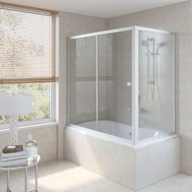 Душевая шторка на ванную ZV+ZVF 180*85 07 01 VegasGlass