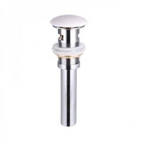 Белый керамический донный клапан Gid WH100 71101k без перелива
