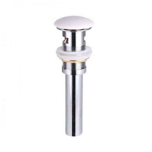 Белый керамический донный клапан Gid WH100-1 71102k с переливом