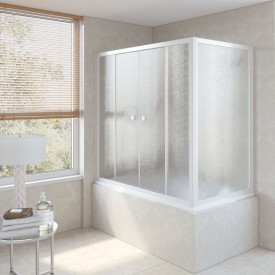 Душевая шторка на ванную Z2V+ZVF 170*90 01 02 VegasGlass