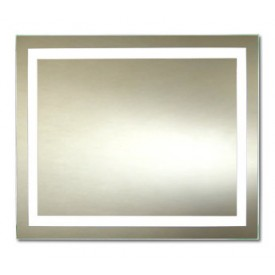Зеркало Континент Торрес Люкс 80х60 с подсветкой ЗЛП158