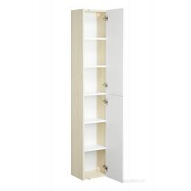 Шкаф - колонна Йорк белый, ясень фабрик Aquaton 1A171203YOAV0