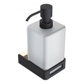 диспенсер для жидкого мыла Gold & black Boheme Q 10957-G-B