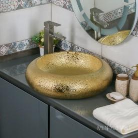 Раковина MELANA MLN-7031ASJ (золото)