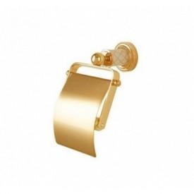 Держатель для туалетной бумаги с крышкой Boheme Murano Cristal 10901-CRST-G