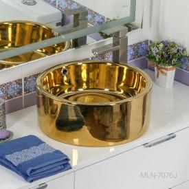 Раковина MELANA MLN-7076j (золото)