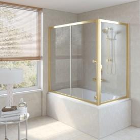 Душевая шторка на ванную ZV+ZVF 170*90 09 01 VegasGlass