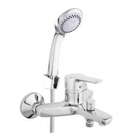 Смеситель в ванную настенный Uno-10/K Rubineta N10D01