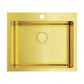 Кухонная мойка Omoikiri Akisame 59-LG 4973082 светлое золото