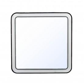 Зеркало Style Line Атлантика 60x60 СС-00002214 с подсветкой и часами