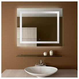 Зеркало Mirsant Casper 80x80 УТ000032184