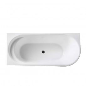 Ванна акриловая Vincea VBT-301-1700L 170x78x60 левая с каркасом и сливом