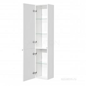 Шкаф - колонна Беверли левая белый Aquaton 1A235403BV01L