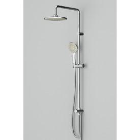 F0790000 Gem душ.система набор: верхн.душ d 220 мм ручн.душ 1 ф-ция d 110 мм переключатель хром