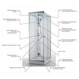 Угол для душа GLASS TS000A1H5T00000