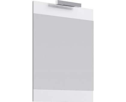 Бригпанель с зеркалом и светильником, белый Br.02.06/W AQWELLA