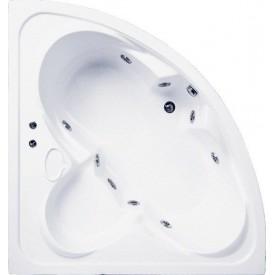 Акриловая ванна Bas Дрова 160x160 см ВГ00059