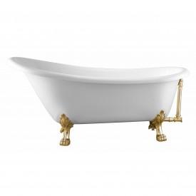 Ванна акриловая Swedbe Vita 171 8819GO отдельностоящая с ножками