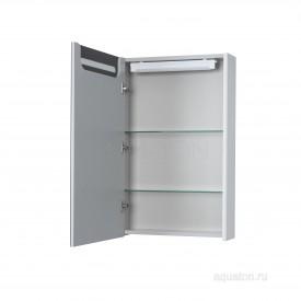 Зеркальный шкаф Сильва 50 дуб полярный Aquaton 1A215502SIW7L