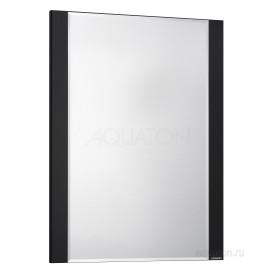 Зеркало Ария 50 черный глянец Aquaton 1A140102AA950