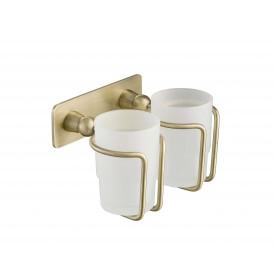 Стакан для зубных щеток двойной Timo Nelson 160032/02 антик
