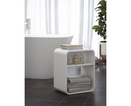 Табурет для ванной комнаты с полкой Cezares TITAN-SEDP