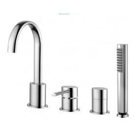 Смеситель для ванны Cezares OVER-BVD-01-Cr