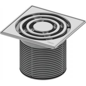 Декоративная решетка в стальной рамке TECE drainpoint S 3660004 150 мм
