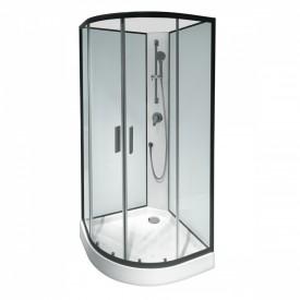 W85C-001-090GT Joy Душевая кабина без г/м 900х900х2160 стекло прозрачное профиль графитовый