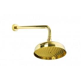 Встроенный верхний душ (20см) Boheme IMPERIALE 411 золото