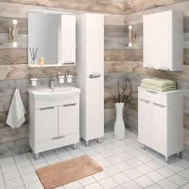 Комплект мебели для ванной Runo Барселона 65